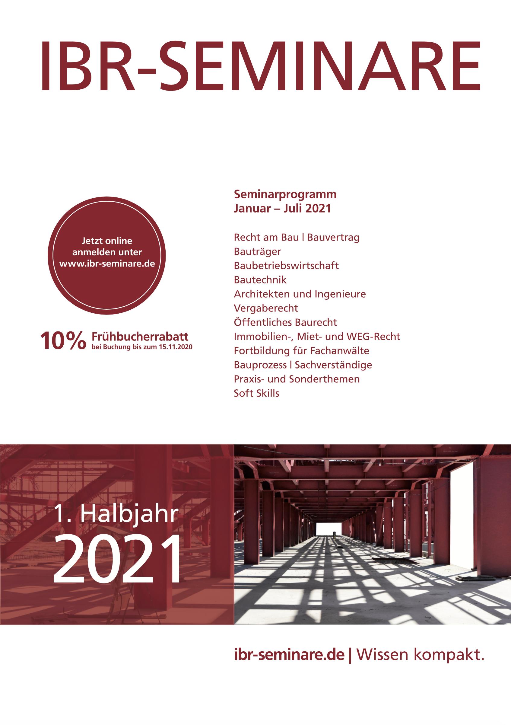 1. Halbjahr 2021 | id Verlags GmbH | Mannheim